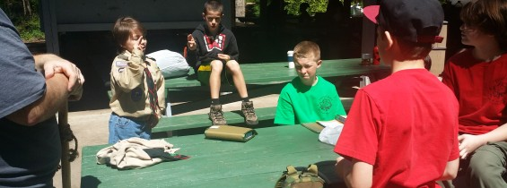 Advancement Campout, May 2-3
