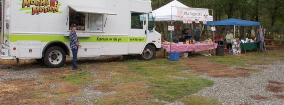 Hot Dog Sales at Soos Creek Botanical Garden for Kent Days, August 15