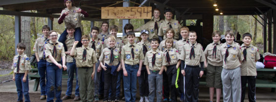 Webelos / New Scout Camp at Renton Lions Park, March 24-26