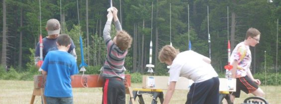 Model Rocket Launch with BMRC, June 17