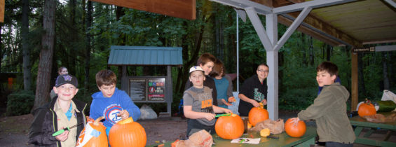 Pumpkin Carving at Renton Lions Park, October 13